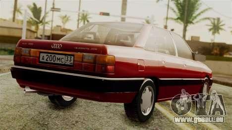 Audi 200 Quattro pour GTA San Andreas laissé vue