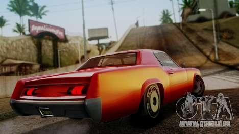 GTA 5 Albany Virgo für GTA San Andreas linke Ansicht