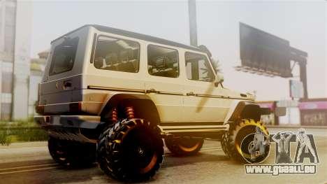 Mercedes-Benz G500 4x4 für GTA San Andreas linke Ansicht