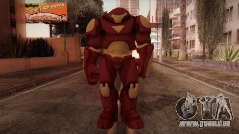 Classic Hulkbuster pour GTA San Andreas deuxième écran