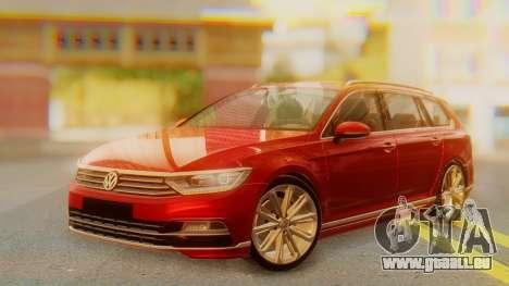 Volkswagen Passat Variant R-Line pour GTA San Andreas