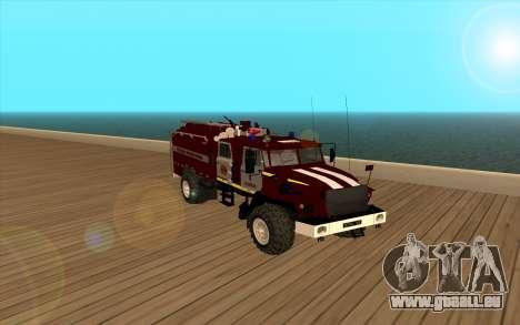 Oural 5557-40 le Ministère des situations d'urge pour GTA San Andreas