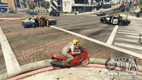 GTA 5 Police Chase Random Event zweite Screenshot