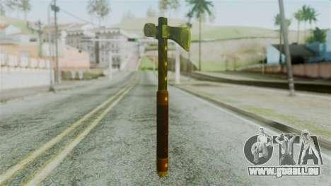 Tomahawk from Silent Hill Downpour für GTA San Andreas zweiten Screenshot