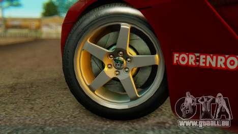 Dodge Viper SRT10 pour GTA San Andreas sur la vue arrière gauche