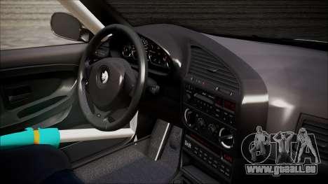 BMW M3 E36 GT-Shop für GTA San Andreas zurück linke Ansicht