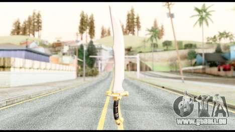 Falchion Sword of Final Fantasy für GTA San Andreas zweiten Screenshot