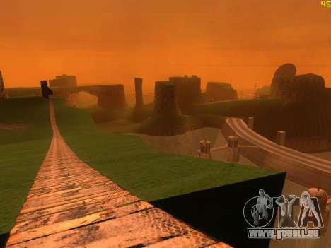 Green desert de Las Venturas v2.0 pour GTA San Andreas troisième écran