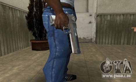 Cool Silver Deagle für GTA San Andreas zweiten Screenshot