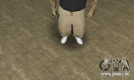 Rifa Skin Third pour GTA San Andreas deuxième écran
