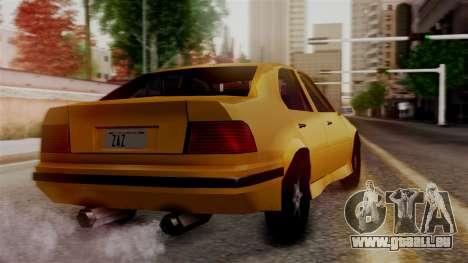 BMW M3 E36 SA Style pour GTA San Andreas laissé vue