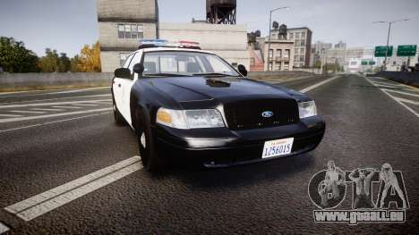 Ford Crown Victoria 2011 LAPD [ELS] rims2 pour GTA 4