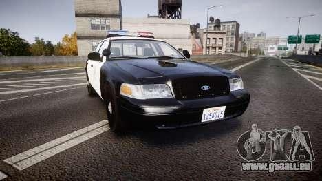 Ford Crown Victoria 2011 LAPD [ELS] rims2 für GTA 4