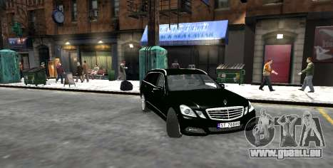 Mercedes-Benz E-Class 2015 Norwegian Police pour GTA 4