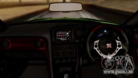 Nissan GT-R R35 Bensopra 2013 pour GTA San Andreas vue de droite