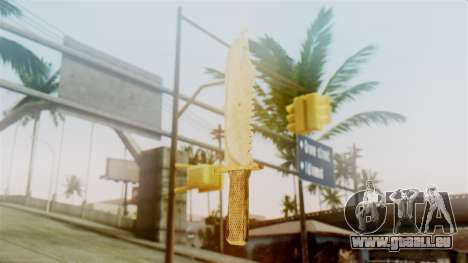 Red Dead Redemption Knife Sergio pour GTA San Andreas