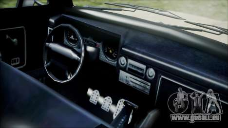 GTA 5 Vapid Slamvan für GTA San Andreas rechten Ansicht