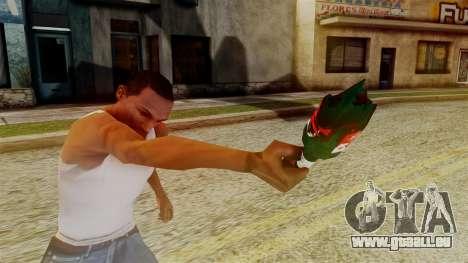 GTA 5 Broken Bottle v2 pour GTA San Andreas troisième écran