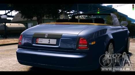 Rolls-Royce Phantom 2013 Coupe v1.0 pour GTA 4 Vue arrière de la gauche