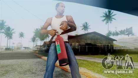 Fire Extinguisher from GTA 5 pour GTA San Andreas troisième écran