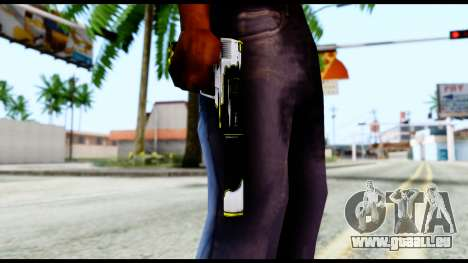 USP-S Torque pour GTA San Andreas troisième écran