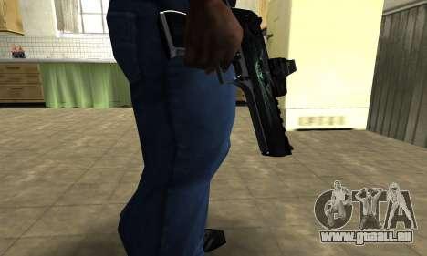 Blue Deagle für GTA San Andreas