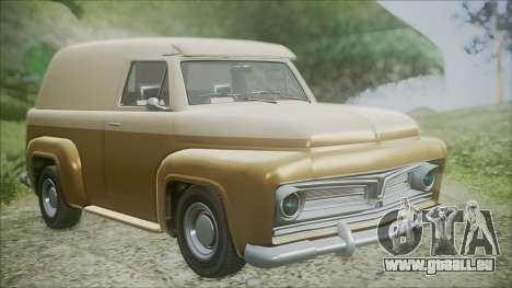 GTA 5 Vapid Slamvan pour GTA San Andreas