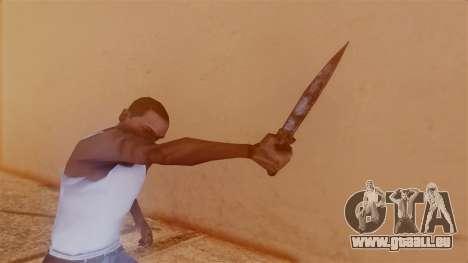 Nurse Knife pour GTA San Andreas troisième écran
