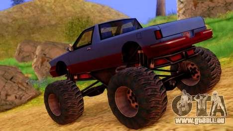 Premier Monster pour GTA San Andreas laissé vue
