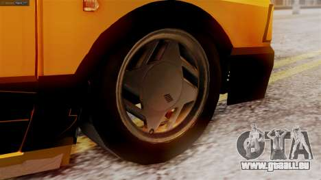 Fiat 147 Al Piso pour GTA San Andreas sur la vue arrière gauche