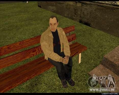Sans-Abri Compote pour GTA San Andreas deuxième écran
