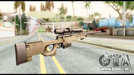 AWM L115A1 pour GTA San Andreas deuxième écran