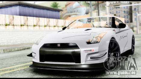 Nissan GT-R R35 2012 pour GTA San Andreas