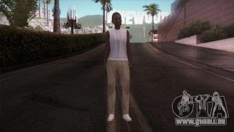 Lady Barber pour GTA San Andreas deuxième écran