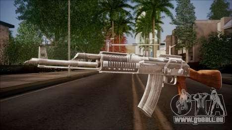 AK-47 v2 from Battlefield Hardline für GTA San Andreas