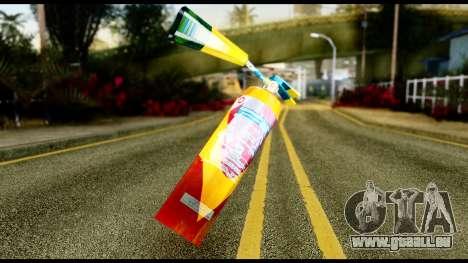 Brasileiro Fire Extinguisher pour GTA San Andreas
