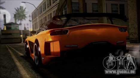 Mazda RX-7 Veilside für GTA San Andreas linke Ansicht