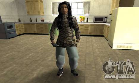 Cool Tokio Girl pour GTA San Andreas