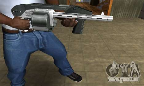 Silver Granate Combat Shotgun für GTA San Andreas zweiten Screenshot