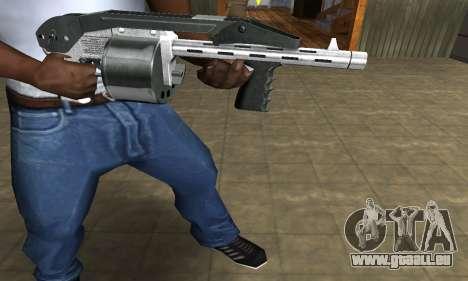 Silver Granate Combat Shotgun pour GTA San Andreas deuxième écran