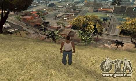 Erhöhung der Reichweite der Vektorisierung für GTA San Andreas dritten Screenshot