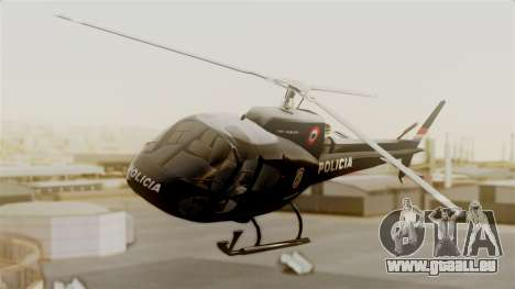 Helicopter National Police of Paraguay pour GTA San Andreas