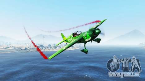 De la fumée sur les avions v1.2 pour GTA 5