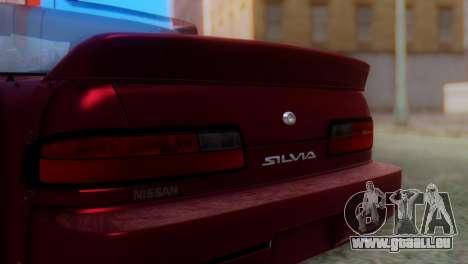 Nissan Silvia S13 Shakotan pour GTA San Andreas vue arrière