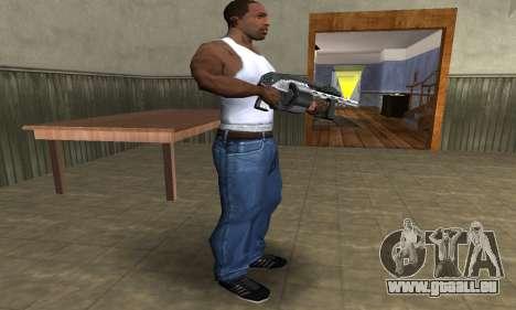 Silver Granate Combat Shotgun pour GTA San Andreas troisième écran