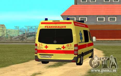 Mercedes-Benz Sprinter Reanimation für GTA San Andreas linke Ansicht
