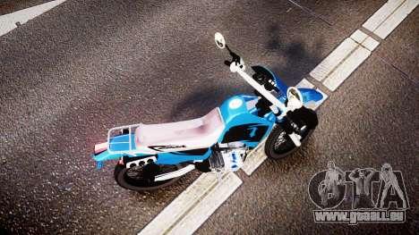 Honda XR 200 für GTA 4 rechte Ansicht