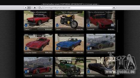 Acheter de transport unique v1.3 pour GTA 5