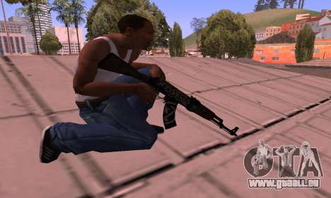 AK-47 Rebel für GTA San Andreas dritten Screenshot