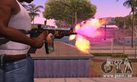 M4 Grifin pour GTA San Andreas deuxième écran
